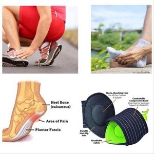 Other - Plantar Fasciitis Insert Foot Pain Relief Pad 1 PC